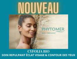 Nouveau soin visage Cyfolia 100% Bio
